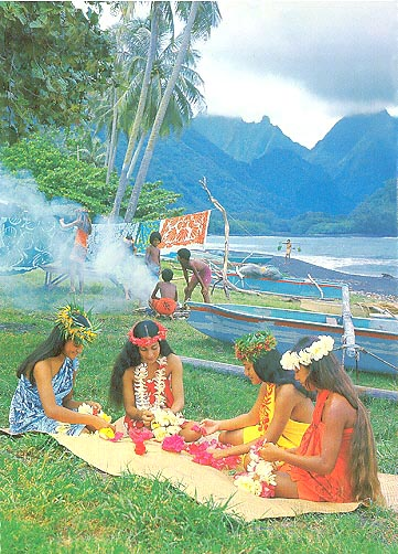 Tahiti postcards the most beuatiful cartes postales de Tahiti