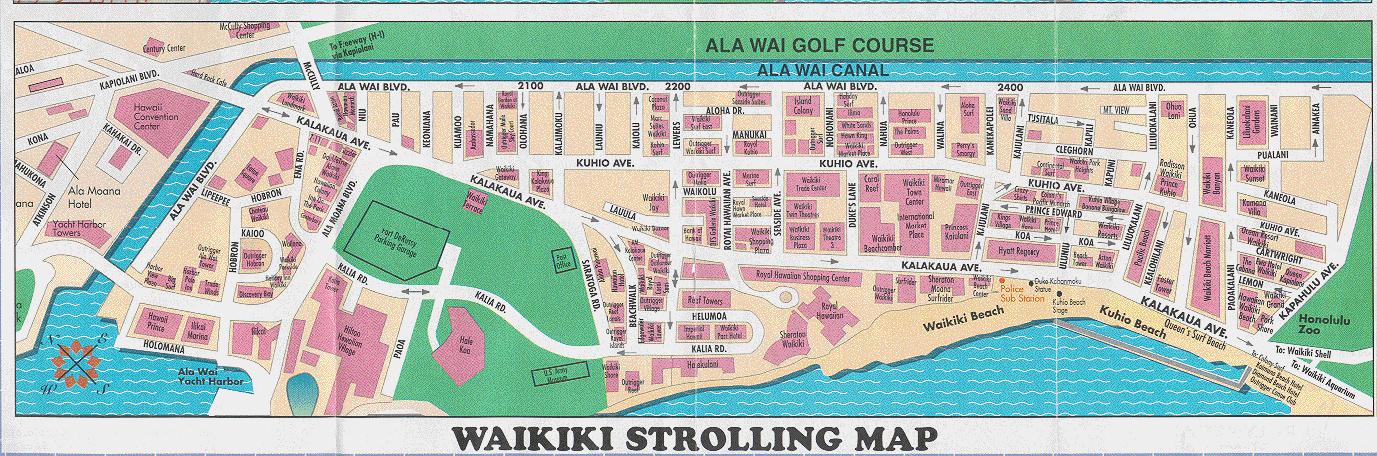Plan Waikiki Large